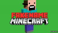 FakeName Mod for Minecraft Logo
