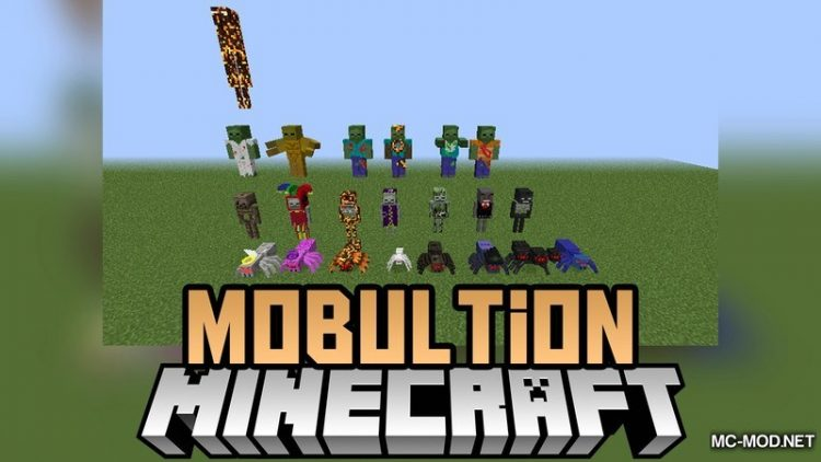 Mobultion Mod for Minecraft Logo
