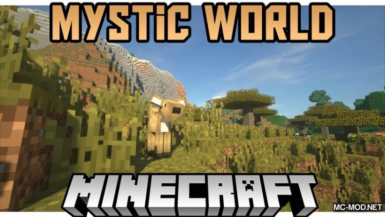 Mystic World Mod for Minecraft Logo