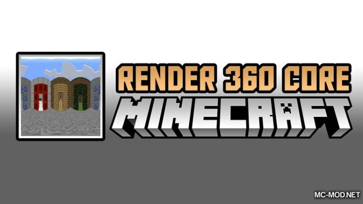 Render 360 Core Mod for Minecraft Logo