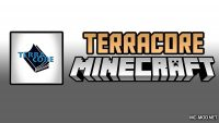 TerraCore Mod for Minecraft Logo