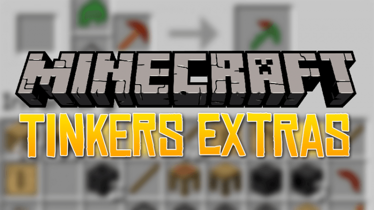Tinkers Extras mod for minecraft logo