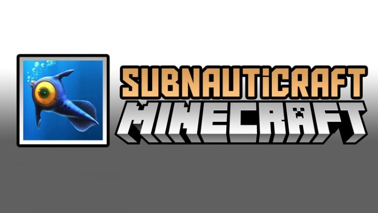 Subnauticraft Mod for Minecraft Logo