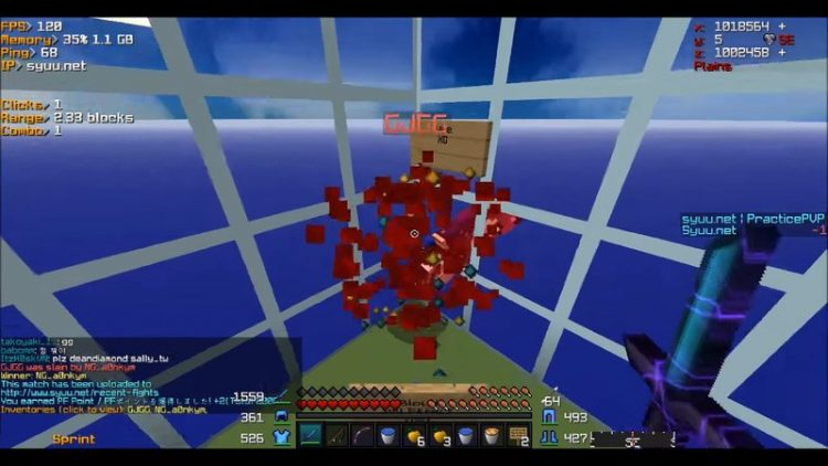 Bloody Kill Effect mod for minecraft 03