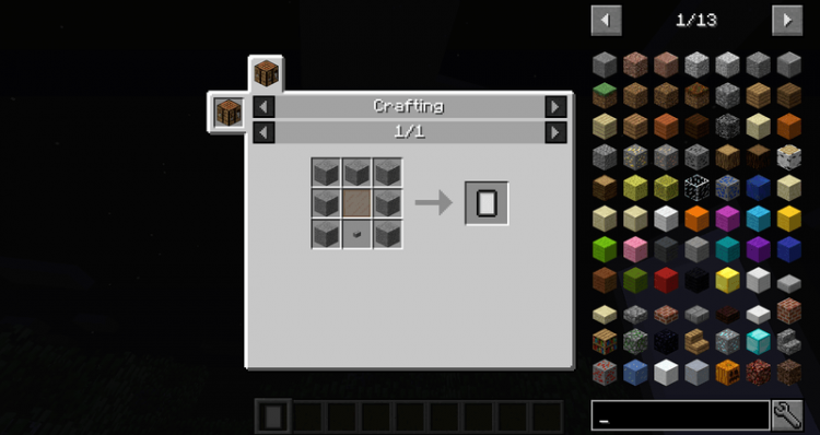 Charset Tablet mod for minecraft 09