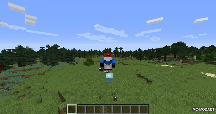 Cloud Boots mod for minecraft 06