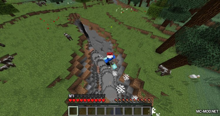 Cloud Boots mod for minecraft 08