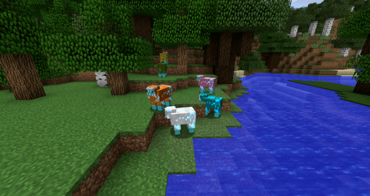 Energetic Sheep mod for minecraft 01