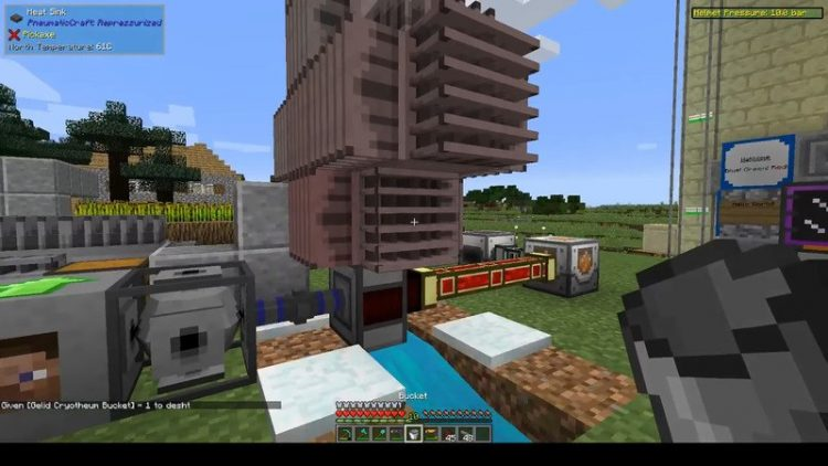 PneumaticCraft Repressurized mod for minecraft 06
