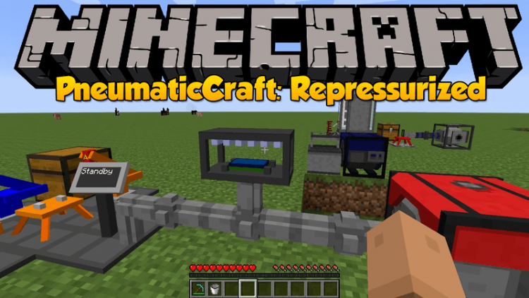 PneumaticCraft Repressurized mod for minecraft logo