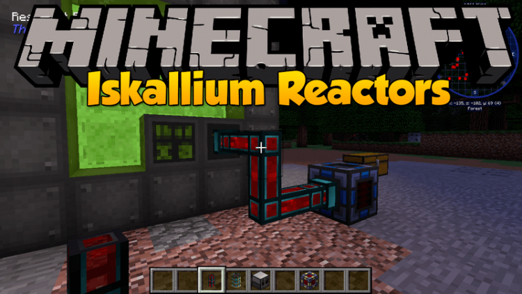 iskallium reactors mod for minecraft logo