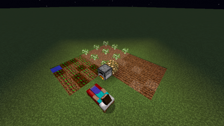 Sleeping Overhaul mod for minecraft 05
