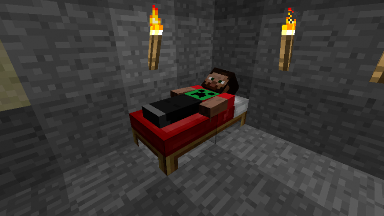 Sleeping Overhaul mod for minecraft 06