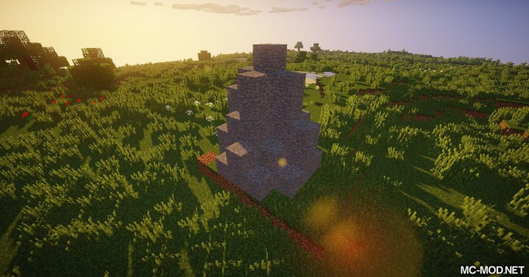 Addtional Structures mod for Minecraft 01