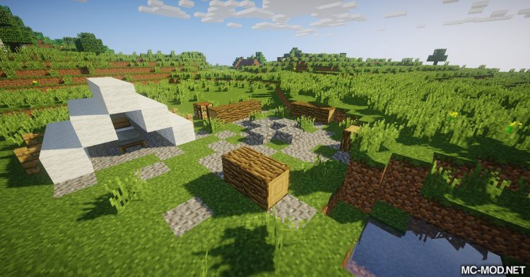Addtional Structures mod for Minecraft 12