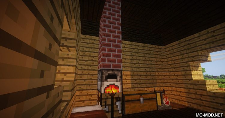 Advanced Chimneys mod for Minecraft 01