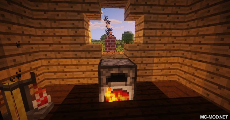 Advanced Chimneys mod for Minecraft 06