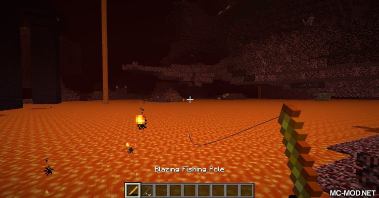 Advanced Fishing mod for Minecraft 01