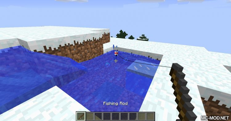 Advanced Fishing mod for Minecraft 04