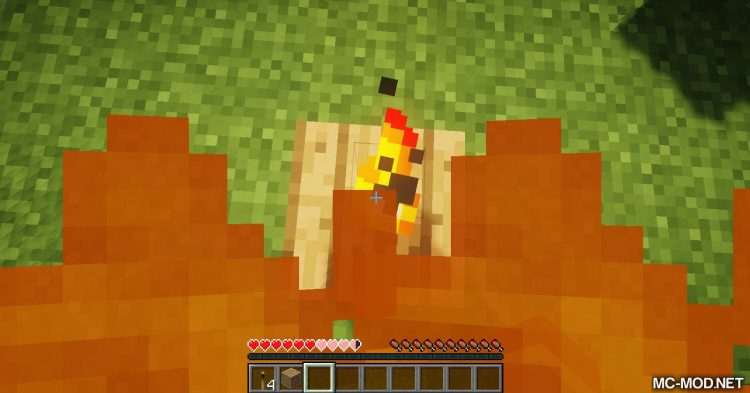 Burning Torches mod for Minecraft 08