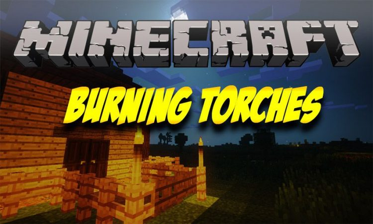 Burning Torches mod for Minecraft logo