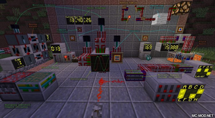 CD4017BE Library mod for minecraft 02