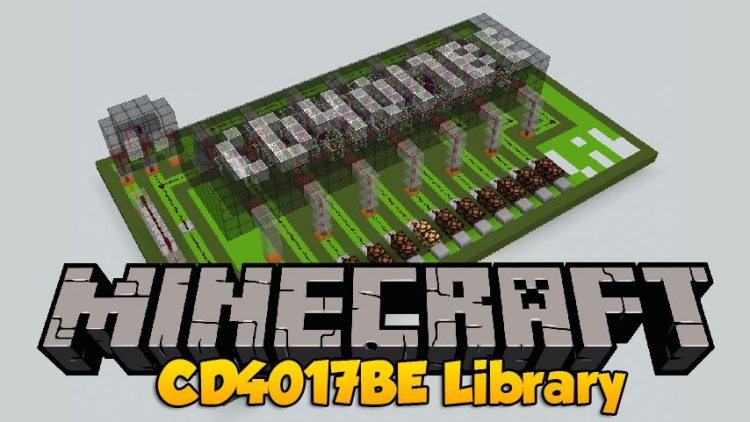 CD4017BE Library mod for minecraft logo