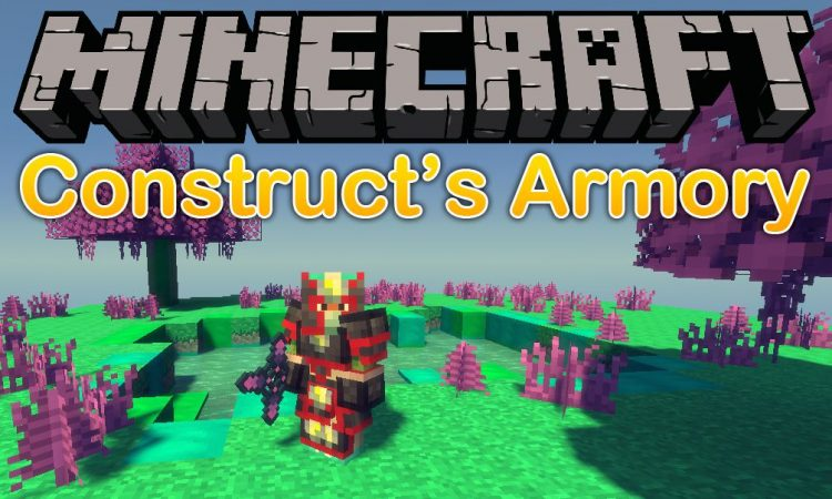 Constructs Armory mod for minecraft logo