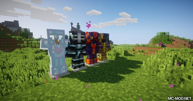 Cosmic Armory mod for Minecraft 07