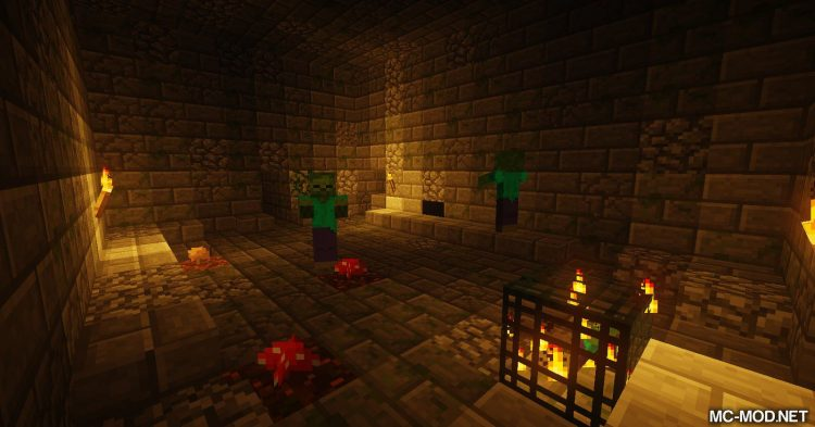 Dungeons2 mod for Minecraft (11)