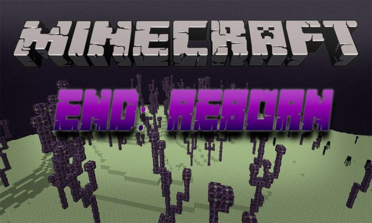 End Reborn mod for Minecraft logo