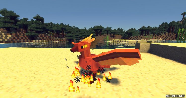 Exotic Birds mod for minecraft 11