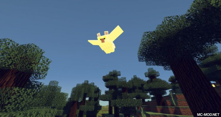 Exotic Birds mod for minecraft 15