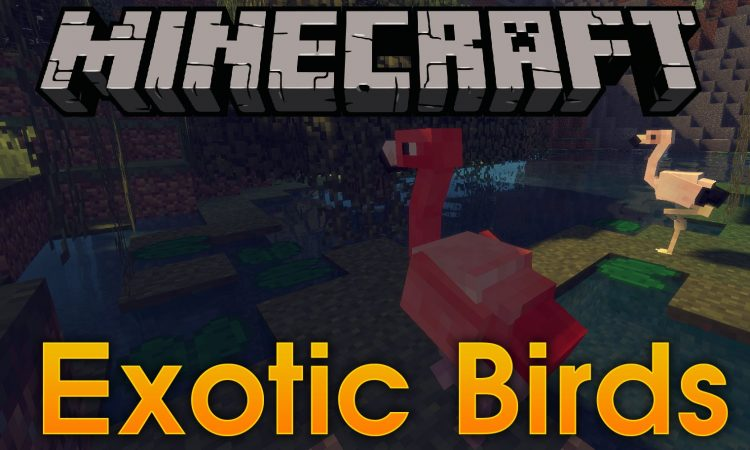 Exotic Birds mod for minecraft logo