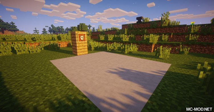 Flowing Blocks mod for Minecraft 09