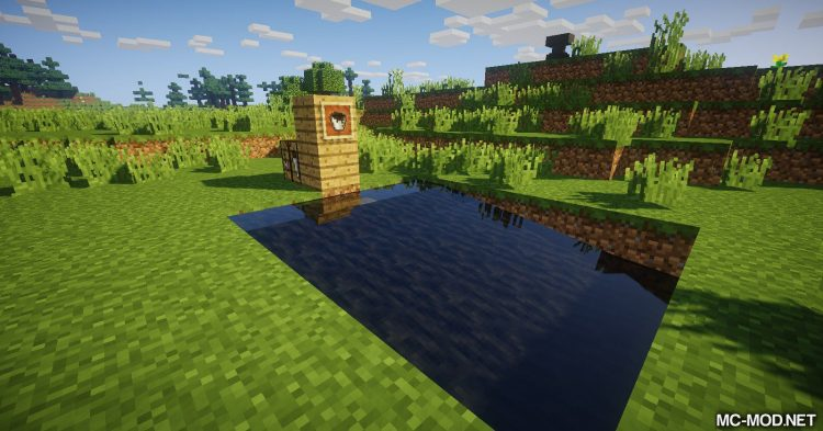 Flowing Blocks mod for Minecraft 11