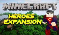HeroesExpansion mod for Minecraft logo