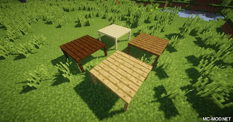 MCDecorations mod for Minecraft 03