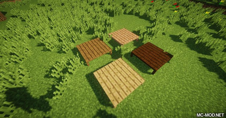 MCDecorations mod for Minecraft 04