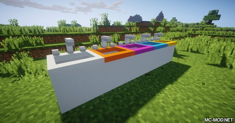 MCDecorations mod for Minecraft 12