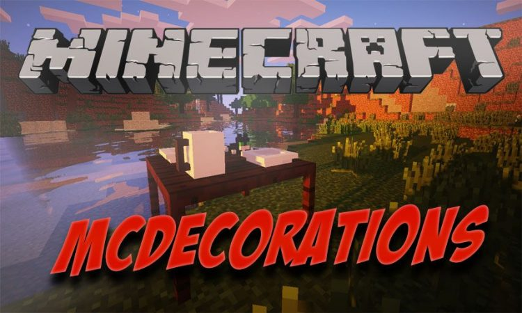 MCDecorations mod for Minecraft logo