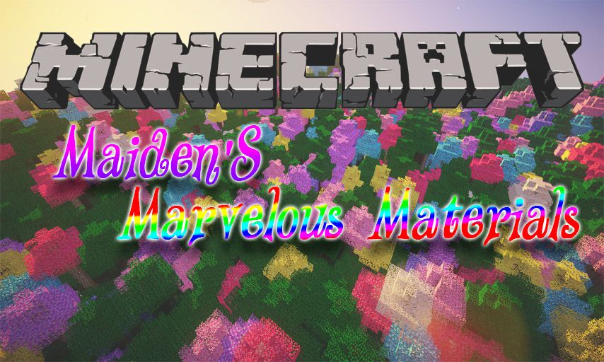 Maiden_s Marvelous Materials mod for Minecraft logo