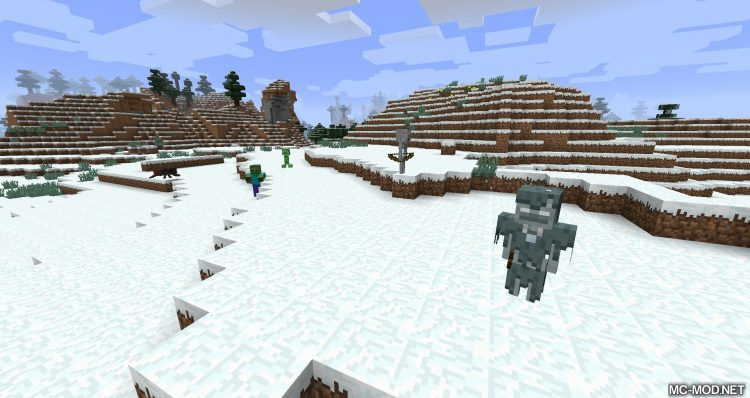 Mob Sunscreen mod for minecraft 10