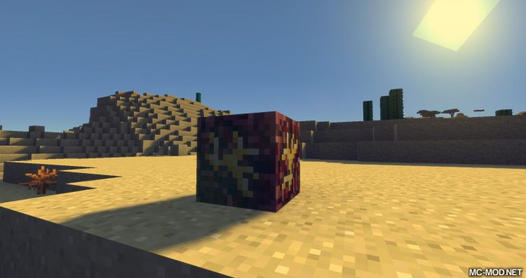Nether Gold Ore mod for minecraft 01