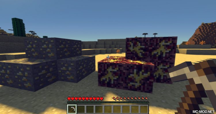 Nether Gold Ore mod for minecraft 02
