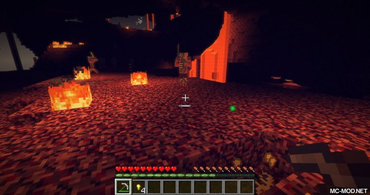 Nether Gold Ore mod for minecraft 05