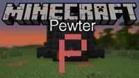 Pewter mod for minecraft logo