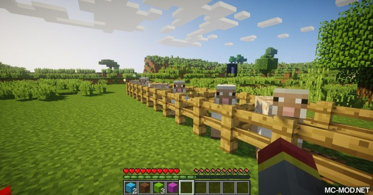 Punch Wool Off Sheep mod for Minecraft (5)