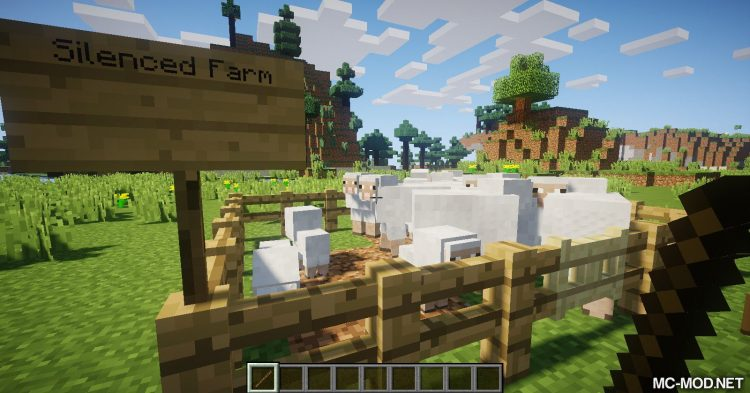 Silence Mobs mod for Minecraft (9)