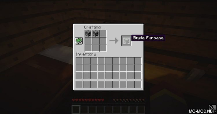 Simple Furnace mod for Minecraft (1)